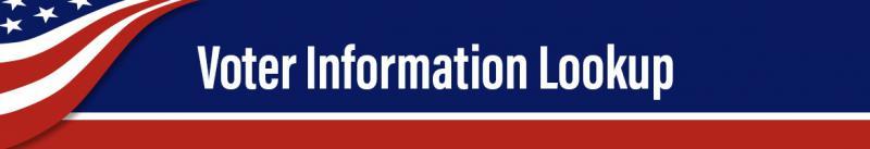 Banner de búsqueda de información para votantes