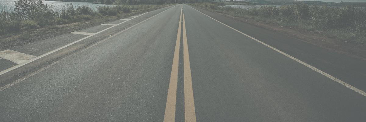 Carretera de un carril.